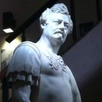 Ron Swanson Lookalike Statue