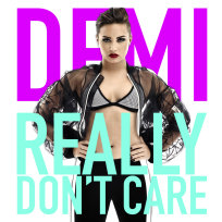 Demi Lovato Really Don't Care Cover Art