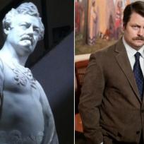 Ron-swanson-statue