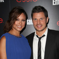 Vanessa Minnillo with Nick Lachey