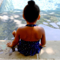 Blue Ivy Poolside