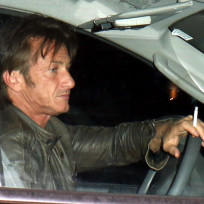 Sean penn smoking