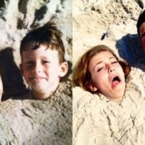 21 Grown-Ups Reenacting Childhood Pics
