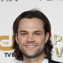 Smiling jared padalecki
