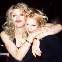 Courtney Love and Drew Barrymore
