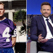 Celebrities who played college football joel mchale