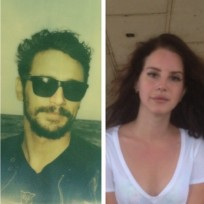 Lana and james side by side