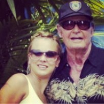 Kaley Cuoco and James Garner