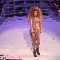 Lady Gaga Hot On Stage