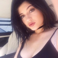 Kylie Jenner Cleavage on Instagram