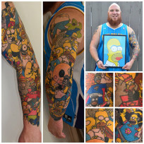 Homer-simpson-tattoos