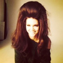 Kendall Jenner Huge Hair Photo
