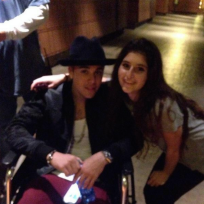 Justin Bieber Wheelchair