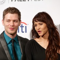 Joseph morgan and persia white photo