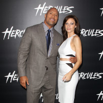 Dwayne Johnson and Lauren Hashian Photo