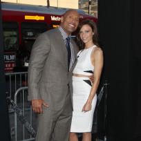 Lauren hashian and dwayne johnson photo