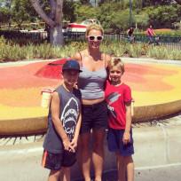 Britney With Kiddos