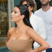 Kim Kardashian Street Photo