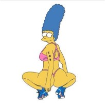 Nicki Minaj as Marge Simpson