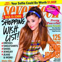 Ariana Grande Seventeen Cover