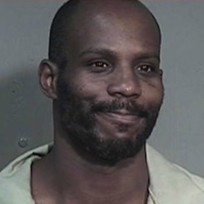 Smiling dmx mug shot