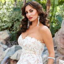 Lizzie rovsek wedding dress