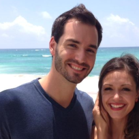 Desiree hartsock and chris siegfried smile