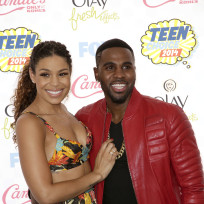 Jordin Sparks and Jason Derulo at the Teen Choice Awards