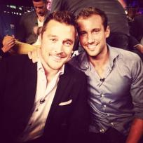 Chris Soules and Marcus Grodd
