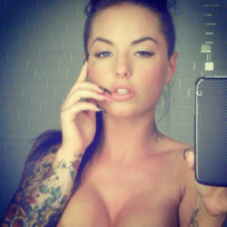 Christy mack topless