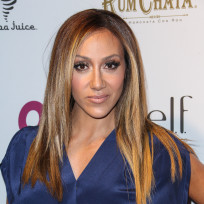 Melissa gorga on a red carpet
