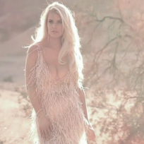 Jessica Simpson Fragrance Cleavage