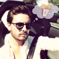 Scott disick chicken fries