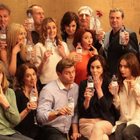 Downton-abbey-cast-with-water-bottles