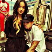 Karrueche chris brown photo