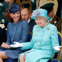 Kate middleton queen elizabeth too
