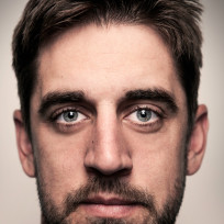 Aaron rodgers close up