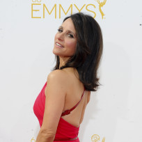 Julia Louis-Dreyfus at the 2014 Emmys