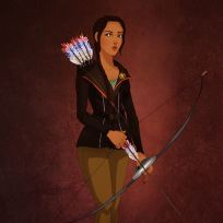 25 disney characters dressed up for halloween pocahontas as katniss everdeen