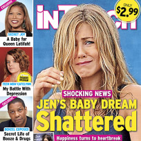 Jennifer anistons baby dream shattered