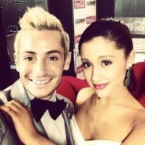 Ariana grande frankie grande pic