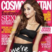 Ariana Grande Cosmo Cover