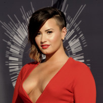 Demi at the VMAs