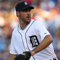 Justin verlander in action