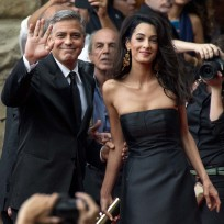 George-clooney-and-amal-alamuddin-red-carpet-debut