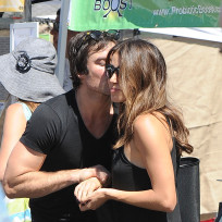 Ian somerhalder kisses nikki reed