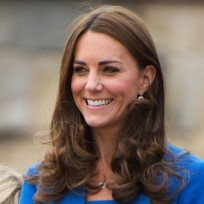 The smiling kate middleton