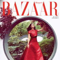 Katy perry bazaar cover