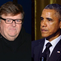 Michael moore barack obama