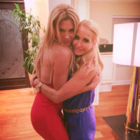 Brandi Glanville and Kim Richards